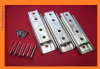 Set of 3, SUPERIOR 120mm Headboard brackets Concealed wall/Panel fixing/Fitting.W/screws 1-10 packs